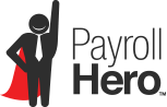 Logo PayrollHero, application time attendance and scheduling